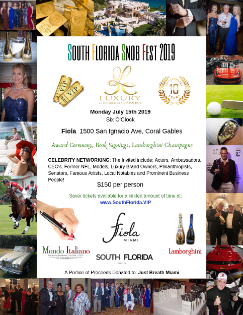 South Florida Snob Fest - Coral Gables at Fiola