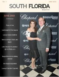 South Florida Magazine Chopard front Cover june issue