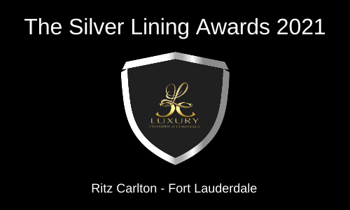 The Official Silver Lining Awards March 15th 2021 at Ritz Carlton Fort Lauderdale - in conjunction with the Reception of Dignitaries with Luxury Chamber of Commerce