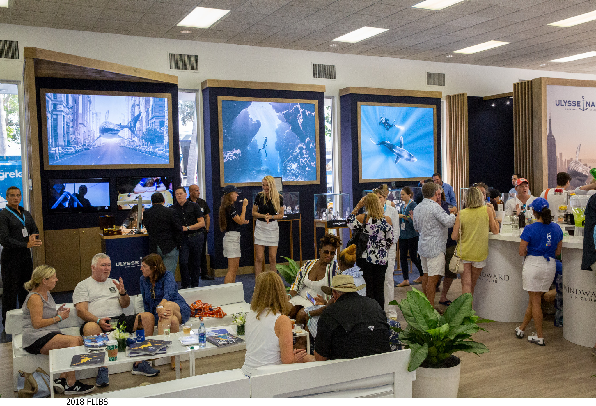 windward VIP lounge 2019 - the boat show