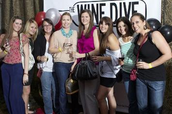 The Ladies at Wine Dive - ladies night out south florida
